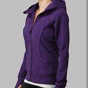 Lululemon Purple Grape Scuba Hoodie Size 6